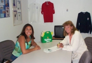 NSL News interview with Eliana Rodriguez and Linda Florea