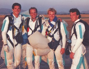 With Airmoves in 1993