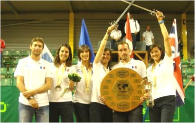 Gold medals at the World Meet 2014 in Prostejov