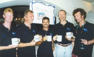 Optic Nerve party after the USPA Nationals 2001