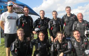 With his 8-way team in Prostejov 2014
