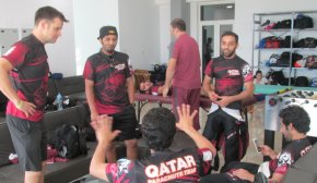 With the Qatar Tigers at the Clash of Champions