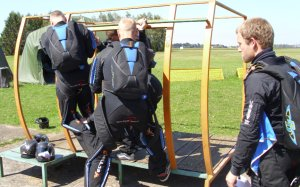 Thunder ISR exit training in Prostejov